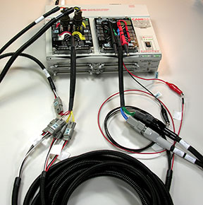 custom applications cable harness testing cableeye rh camiresearch com wire harness testing system wiring harness testing board