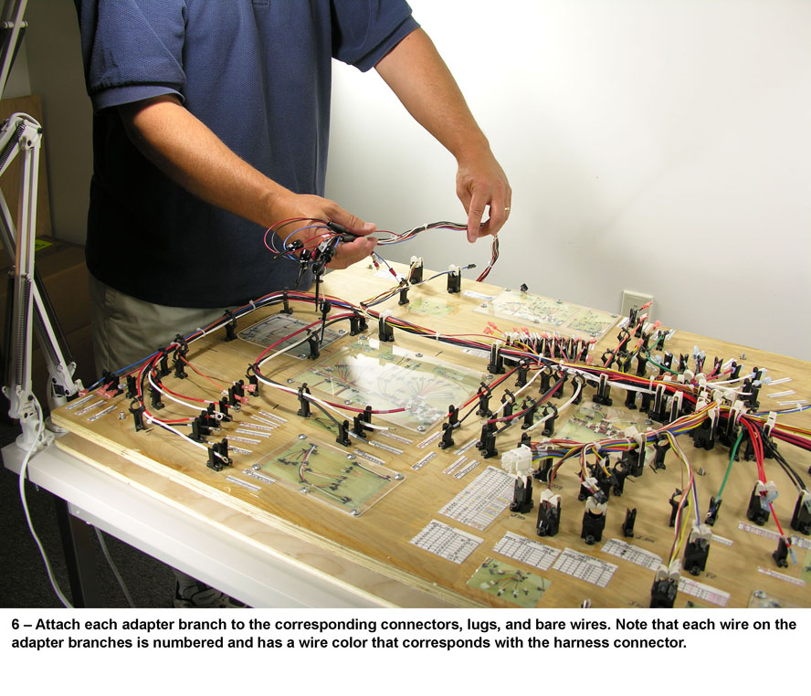 Aircraft Wire Harness Assembly : Aircraft wiring harness custom tester