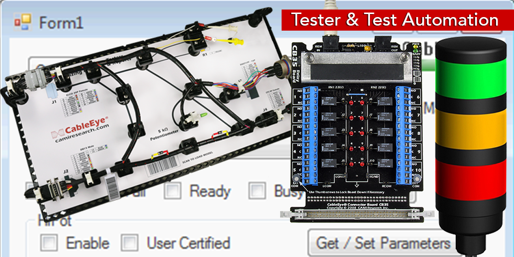 Cable Tester Automation