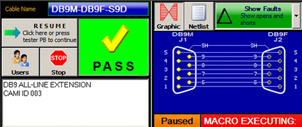 Pass/Fail Graphical User Interface