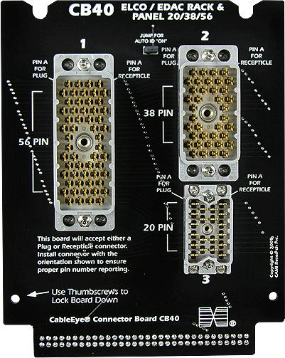 Cableeye Cb40 Connector Board For Elco Connectors