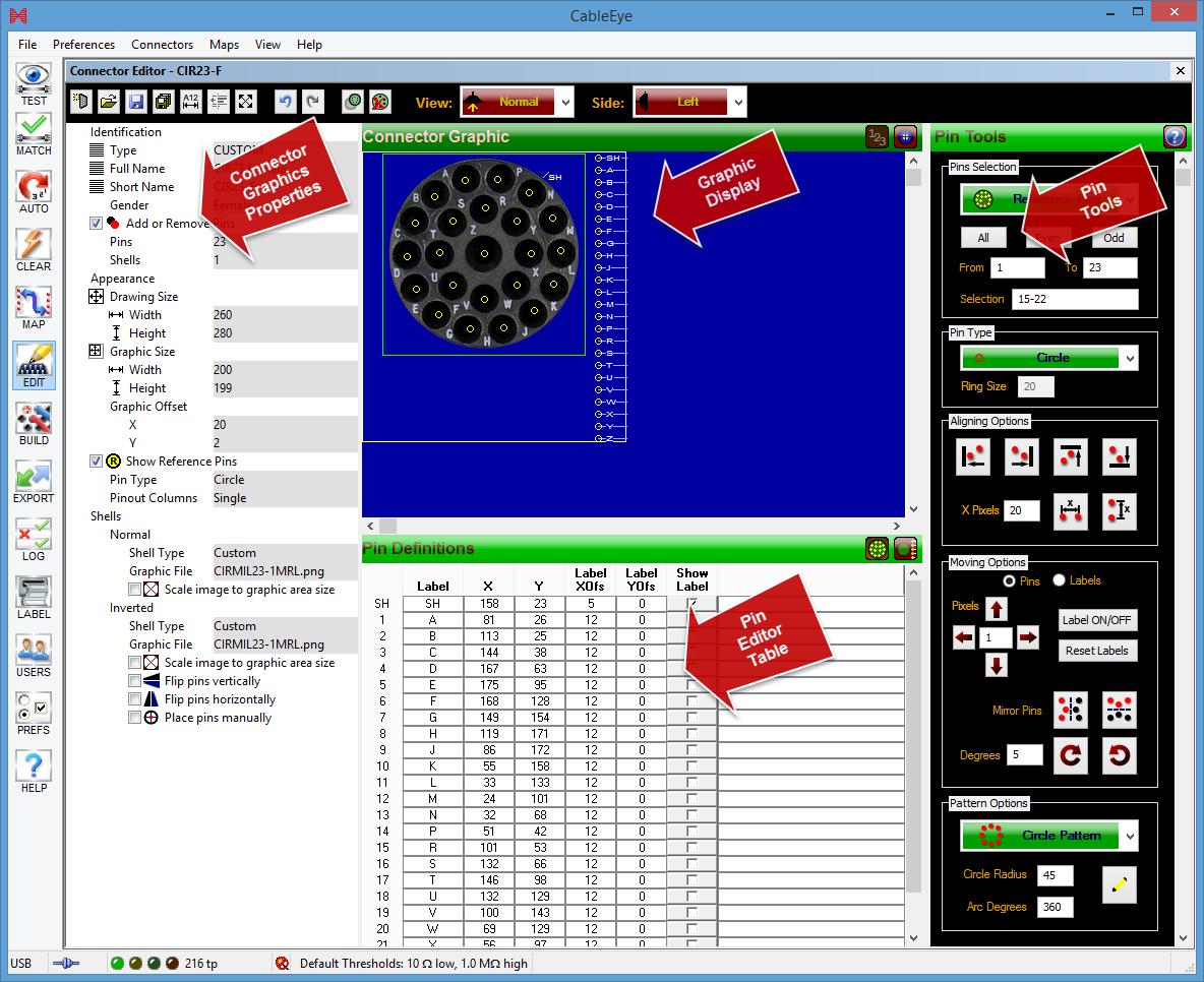 Connector Designer Software