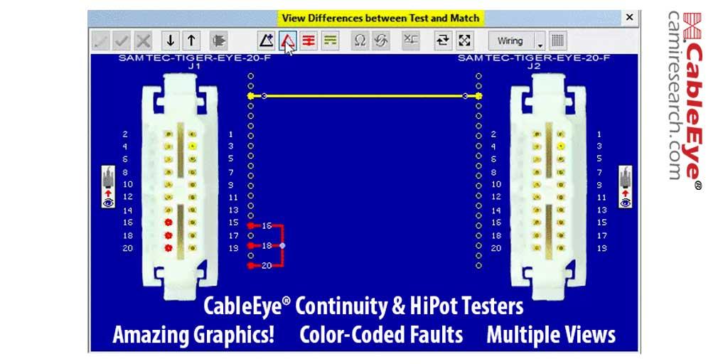Sample Graphic Wiring Display
