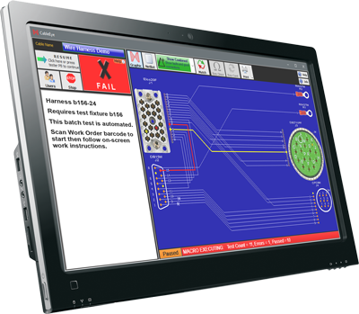 Automation-Ready Continuity Tester: Production Screen.