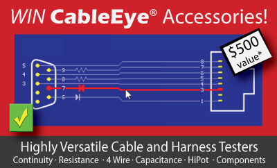 WIN $500 of CableEye Accessories